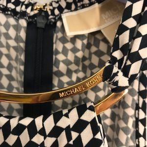 Michael Kors Gold Collar Dress